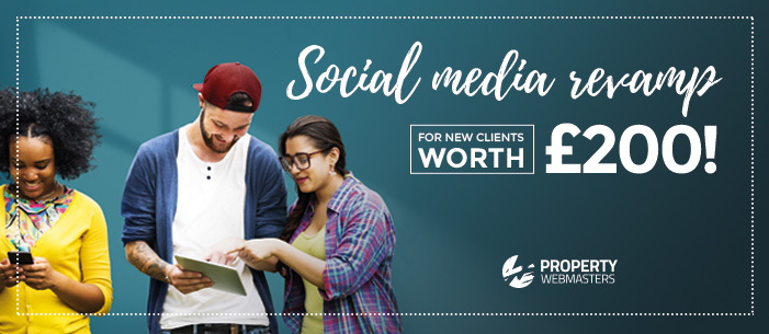 Get your FREE Social Media Revamp worth £200
