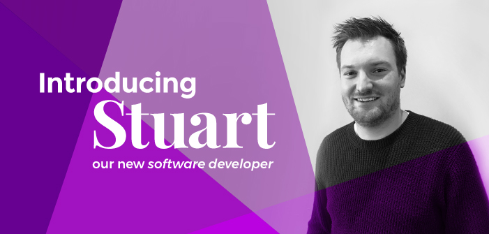 Introducing Our New Software Developer, Stuart!