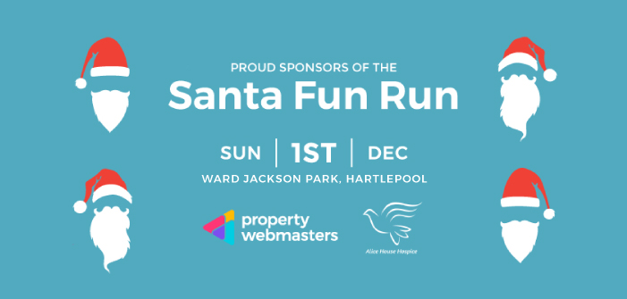 Property Webmasters Taking on Santa Fun Run