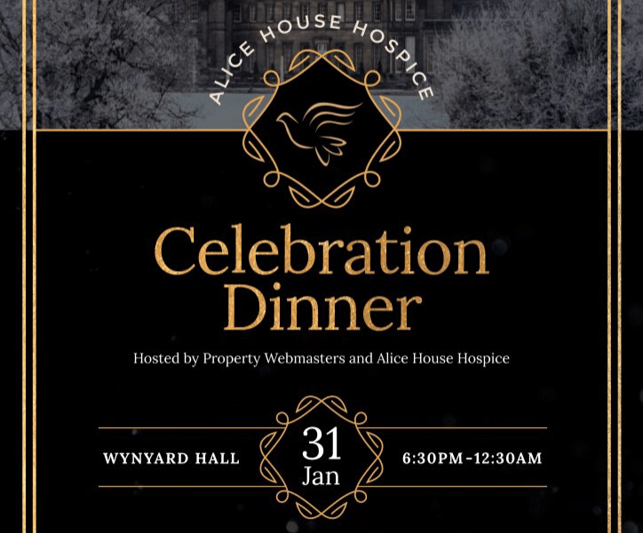 Alice House Hospice Charity Celebration Dinner