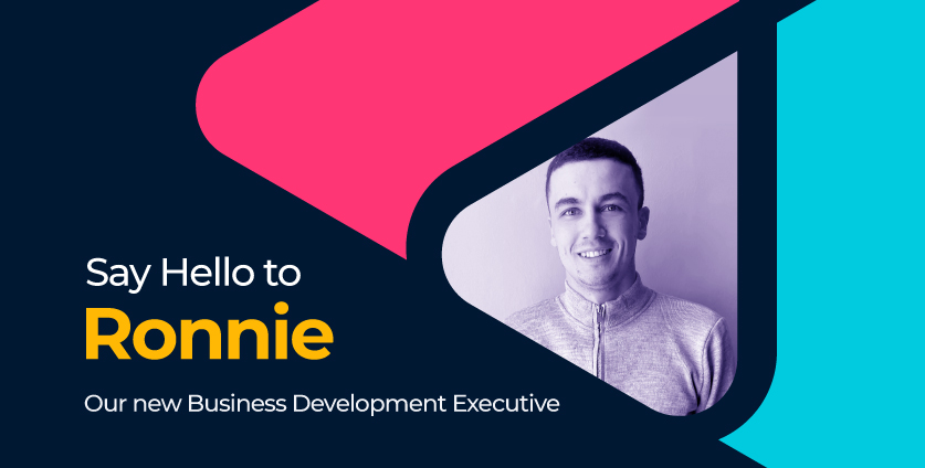 Introducing Ronnie, Our New Business Development Executive